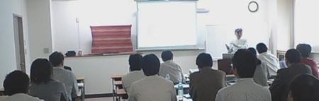 2009-09-10SEO塾セミナーの会場は、2009-05-14のセミナーの時と同じ学園ビルです